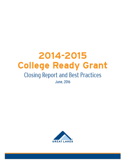2014-2015 College Ready Grant Report